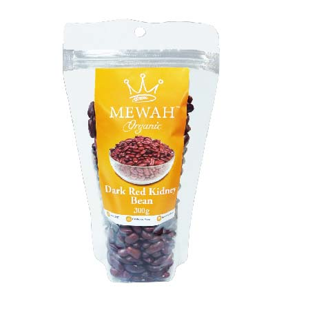 Mewah Organic Dark Red Kidney Bean 300g