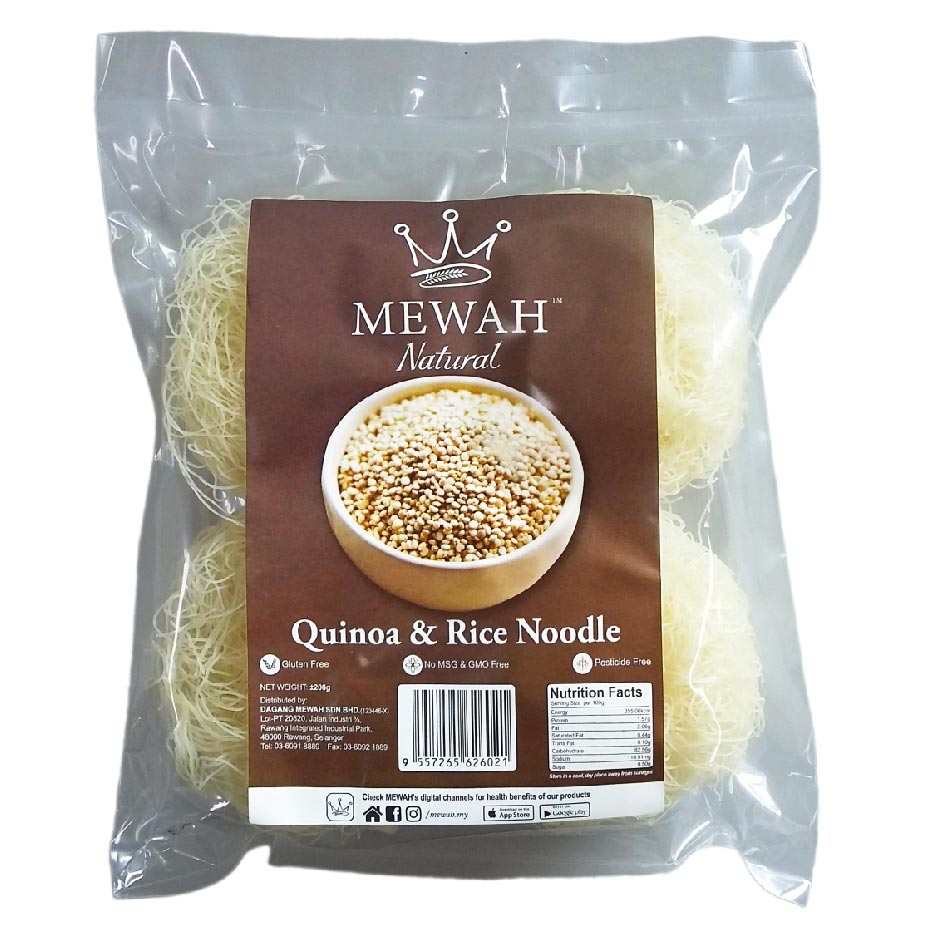 Mewah Natural Quinoa & Rice Noodle 200g