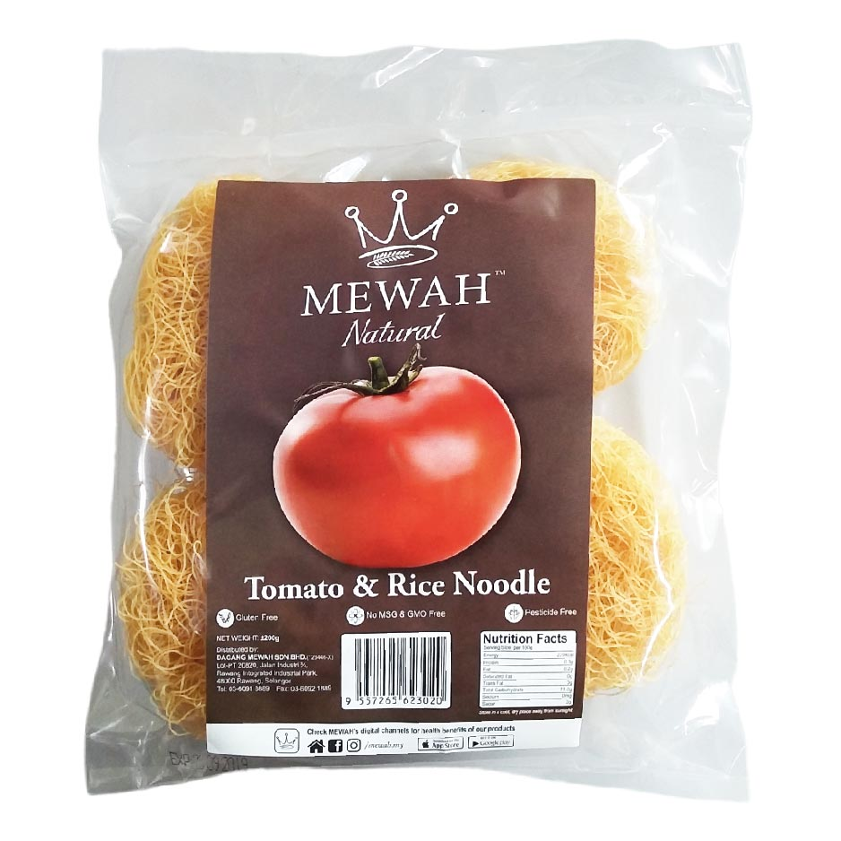 Mewah Natural Tomato & Rice Noodle 200g
