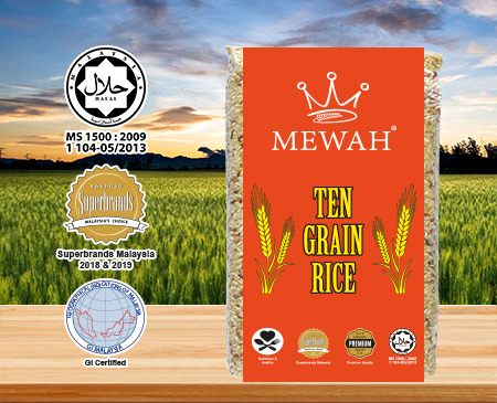 Mewah Ten Grain Rice 1kg