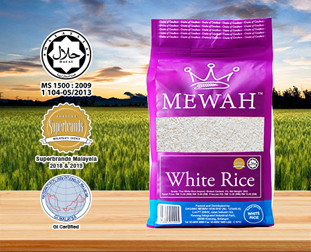 Mewah Thai White Rice 1 & 5Kg