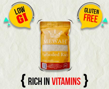 Mewah Parboiled Rice 1kg