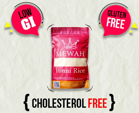 Mewah Ponni Rice 1kg