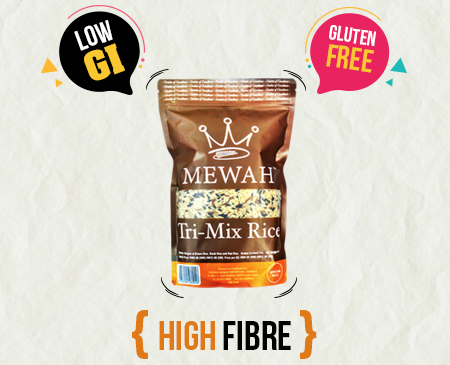 Mewah Tri-Mix Rice 1kg