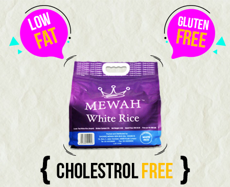 Mewah Thai White Rice 5kg